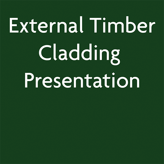 External Timber Cladding Presentation